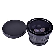 52mm 0.35x Super Fisheye Wide Angle Lens voor Cannon Nikon Sony Fuji camera's
