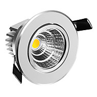 5 W COB 50-350 LM Warm White Dimmable Ceiling Lights AC 220-240 V