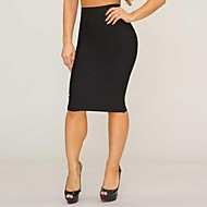 Women's Bodycon Knee Length Skirt