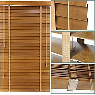 50mm Basswood Solid Venetian Blinds With Ladder Tape High Profile