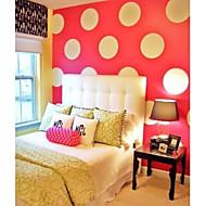 JiuBai™ Big Polka Dot Wall Sticker Wall Decal, 16 Dots Per Set