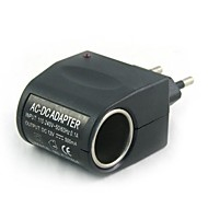 100v-240v ac ~ 12v dc 전원 라이터 (eu 플러그)