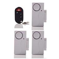 trådlös fjärrkontroll dörrsensor larm