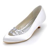 Svart / Blå / Gul / Rosa / Lilla / Rød / Elfenbenshvit / Hvit / Sølv / Gull / Sjampagne - Bryllup sko - Dame - Hæler / Lukket tå -høye