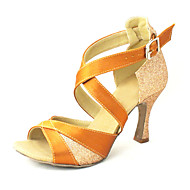 Customized Fashion Womens Satin Upper Dance Shoes Customized Women s Satin and