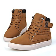 Men's Spring / Summer / Fall / Winter Closed Toe Suede Casual Flat Heel Lace-up Sneaker