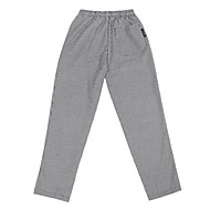 restaurace uniformy elastický pas kalhoty se třemi kapsami