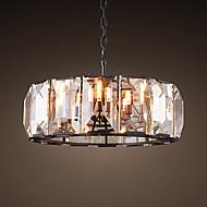 Vintage Bulk Crystal Ceiling Chandelier