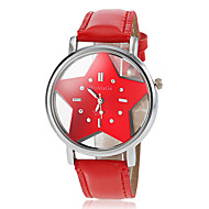 Women's Hollow Star Dial PU Band Quartz Wrist Watch (Assorted Colors) Cool Watches Unique Watches Fashion Watch