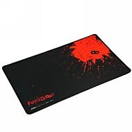 eerste bloed professionele gaming muismat (41.5x25x0.2cm) -zwart