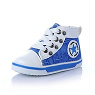 Boy's / Girl's Sneakers Spring / Summer / Fall Comfort / Round Toe / Closed Toe Canvas Outdoor / Casual Flat Heel Rivet / Lace-upBlue /