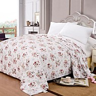 Bacteriostatic Pure Silk Quilt Summer Air-Condition  Cotton Cover Silk Comforter Blanket