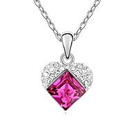 Austrian Crystal Necklace(More Colors)