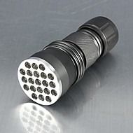 תאורה פנס LED / פנסי תאורת אולטרה סגול / פנסי יד LED Lumens 1 מצב Luminus SST-90 AAA אחיזה נגד החלקה שימוש יומיומי סגסוגת אלומניום