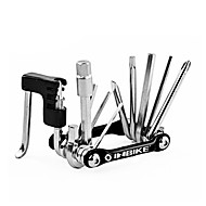 inbike ferramenta de reparo moto preta multi-funcional com cortador de corrente