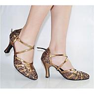 Women's Paillette Upper Sequin Ballroom Latin Shoes High Heels(More Colors)