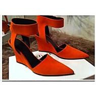 女性の靴は、尖ったつま先スチレットヒールは、より多くの色利用可能な靴パンプス