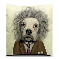 tecknad cool hund bomull / linne dekorativa örngott