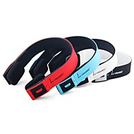 veggieg V6100 Kopfhörer bluetooth v4.0 über Ohr mit Mikrofon- / Lautstärkeregler für Handys / pc / Media-Player / Tablette
