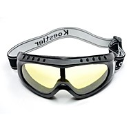 pellicola di colore coway occhiali di sci di polvere protettiva (colori assortiti)