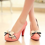 Women's Shoes Round Toe Stiletto Heel Heels with Bowknot Shoes More Colors available