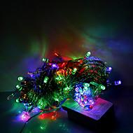 10m 100 LED vánoční Halloween dekorativní osvětlení slavnostní Světelný pás-obyčejný řetězec světla rgb (220)