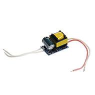 0.3a 4-5W dc 12-16v para AC 85-265V motorista fonte de alimentação de corrente constante interna para luzes de Spot LED