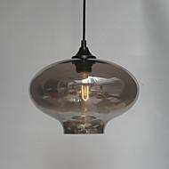 תליון עיצוב בועה, אור 1, ציור ברזל מינימליסטי
