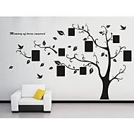 decalques de parede adesivos de parede, parede de pvc árvore genealógica adesivos