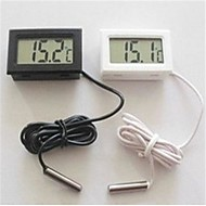 4.7 * 2.8 * 1.4cm lcd akvarium kjøleskap elektronisk digitalt display termometer.