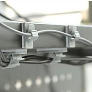 plástico adesivo coletor fio enchedor de bobina dupla face (1 tamanho 10 pcs)