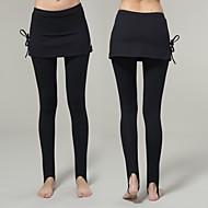 Yokaland Elegant Slim Fit Stirrup Legging Skirt