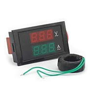 Digitalni dual display AC voltmetar ampermetar (100 ~ 300V / 0 ~ 100A)