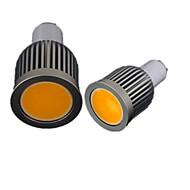 MORSEN Lâmpada de Foco/Lâmpada PAR Regulável GU10 9 W 700-750 LM 3000-3500 K Branco Quente 9 SMD 2835 AC 110-130 V PAR