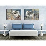 Personalized Canvas Print Retro Flowers 35x50cm  40x60cm  50x70cm  Framed Canvas Painting Set of 2