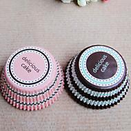 50 Stück / Set Geschenke Halter-Korb Perlenpapier Kuchenverpackung und Boxen Nicht personalisiert