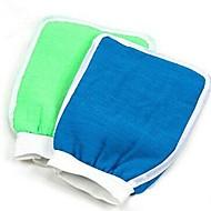 hydratant spa eau du bain de lavage des gants bain exfoliant pour la douche (couleur aléatoire)