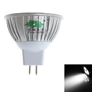 3W LED Spotlight MR16 3 Dip LED 280-300 lm Natural White Decorative DC 12 V