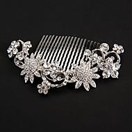prata girassóis placas de platina Headpieces casamento
