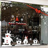 """Veselé Vánoce krásné sob rodina window nálepka (59.04 """"w × 47,28"""" l)"""