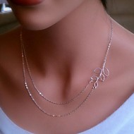 Golden / Silver Choker Necklaces Alloy Daily Jewelry