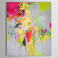Hand-Painted Abstract Vertical,Classic One Panel Canvas Oil Painting For Home Decoration