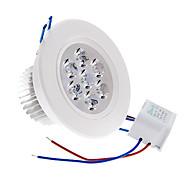 7 W 7 High Power LED 490 LM Warm White Ceiling Lights AC 220-240 V