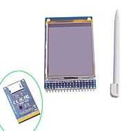 "2,4 ""TFT LCD touch-skærm display modul med touch pen til Arduino"