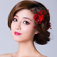 Women's Cubic Zirconia Headpiece - Wedding Hair Pin