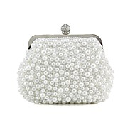 Silk Wedding / Special Occasion Clutches / Evening Handbags with Imitation Pearls (More Colors)
