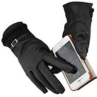 Women PU/Wool Gloves , Casual