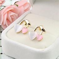 Stud Earrings Women's Alloy Earring Non Stone