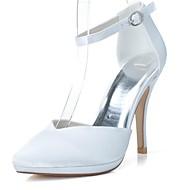 婦人靴のかかとのとがったつま先のスチレットヒールは、より多くの色利用可能な結婚式の靴パンプス