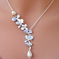 Women's Pearl/Alloy Necklace Gift/Daily/Causal/Outdoor Pearl